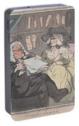 A Counselor's Opinion After He Had Retired From Practice After Thomas Rowlandson British, London 17 Portable Battery Charger
