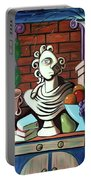 A Cubist Still Life Portable Battery Charger by Anthony Falbo