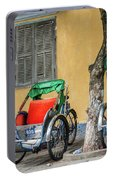 A Cyclo Driver Takes A Nap, In Hoi An, Vietnam. Portable Battery Charger