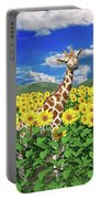 A Friendly Giraffe Hello Portable Battery Charger