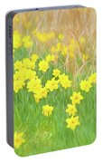 A Host Of Daffodils Portable Battery Charger