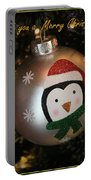 A Merry Christmas Greeting Portable Battery Charger