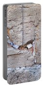 A Piece Of The Wailing Wall Portable Battery Charger