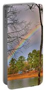 A Pot Of Gold On Lake Murray South Carolina Portable Battery Charger by Lisa Wooten