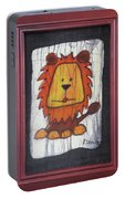 A Red Lion.  Portable Battery Charger