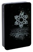 A Ripple Of Christmas Cheer Portable Battery Charger