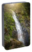 A Touch Of Light On Bridal Veil Falls Portable Battery Charger