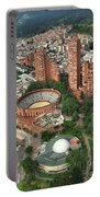 A View Of Downtown Bogota Portable Battery Charger