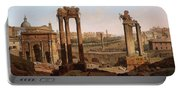 A View Of The Forum Romanum Portable Battery Charger