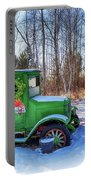 A Vintage Christmas Portable Battery Charger by Susan Rissi Tregoning