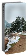 A Winter's Day In The Flatirons Portable Battery Charger