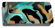 Abstract Colors  Portable Battery Charger