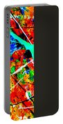 abstract composition K12 Portable Battery Charger
