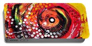 Abstract Lion Fish Portable Battery Charger