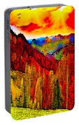 Abstract Scenic 3 Portable Battery Charger