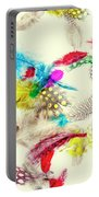 Abstract Softness Portable Battery Charger