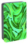 Abstract Waves Painting 0010075 Portable Battery Charger