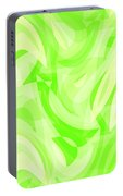 Abstract Waves Painting 0010076 Portable Battery Charger