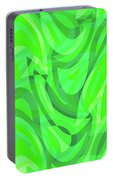 Abstract Waves Painting 0010082 Portable Battery Charger