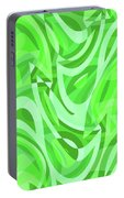 Abstract Waves Painting 0010086 Portable Battery Charger