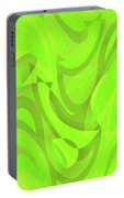 Abstract Waves Painting 0010093 Portable Battery Charger