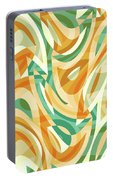 Abstract Waves Painting 0010105 Portable Battery Charger