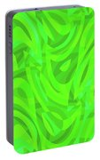 Abstract Waves Painting 0010106 Portable Battery Charger