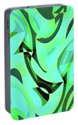 Abstract Waves Painting 0010107 Portable Battery Charger