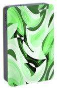 Abstract Waves Painting 0010108 Portable Battery Charger