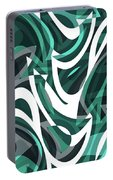 Abstract Waves Painting 0010112 Portable Battery Charger