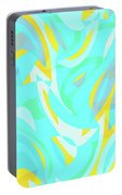 Abstract Waves Painting 0010114 Portable Battery Charger