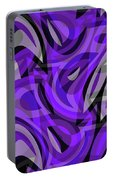 Abstract Waves Painting 0010115 Portable Battery Charger