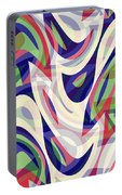Abstract Waves Painting 0010118 Portable Battery Charger