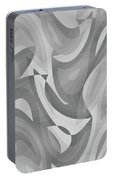 Abstract Waves Painting 0010119 Portable Battery Charger