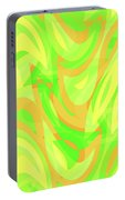 Abstract Waves Painting 007178 Portable Battery Charger