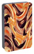 Abstract Waves Painting 007187 Portable Battery Charger