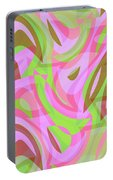 Abstract Waves Painting 007188 Portable Battery Charger