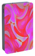 Abstract Waves Painting 007190 Portable Battery Charger