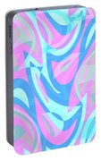 Abstract Waves Painting 007197 Portable Battery Charger