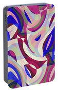 Abstract Waves Painting 007199 Portable Battery Charger