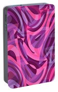 Abstract Waves Painting 007200 Portable Battery Charger