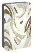 Abstract Waves Painting 007212 Portable Battery Charger