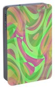 Abstract Waves Painting 007214 Portable Battery Charger