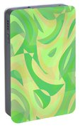 Abstract Waves Painting 007216 Portable Battery Charger