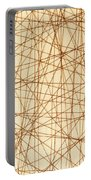 Abstract Web Background Portable Battery Charger