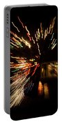 Abstracted Christmas - Luminous Fairy Lights Patterns Portable Battery Charger