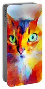 Abyssinian Cat Portable Battery Charger