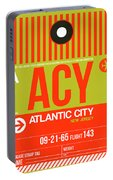 Acy Atlantic City Luggage Tag I Portable Battery Charger