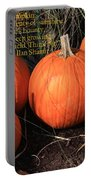 The Pumpkin Patch Portable Battery Charger