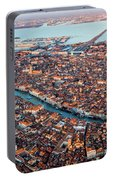 Aerial View Of Grand Canal, Venice, Italy Portable Battery Charger